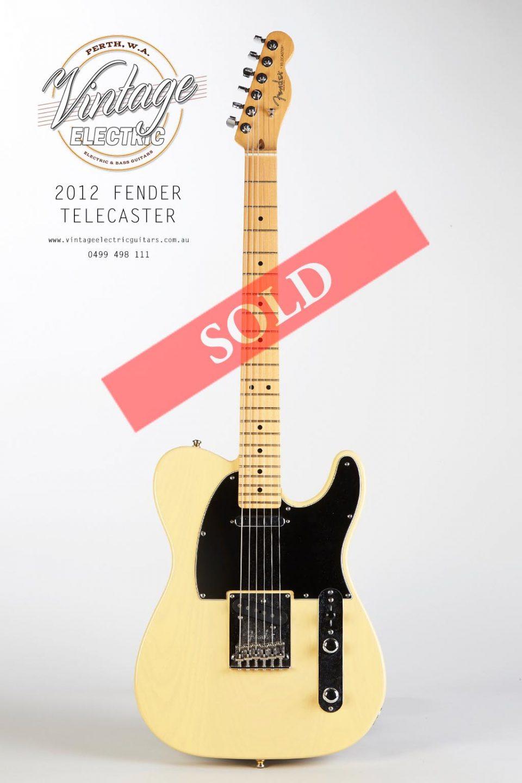 2012 60th Fender Telecaster USA