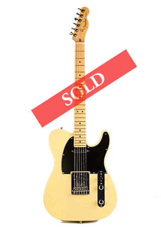 2012 60th Fender Telecaster SMALL Sold