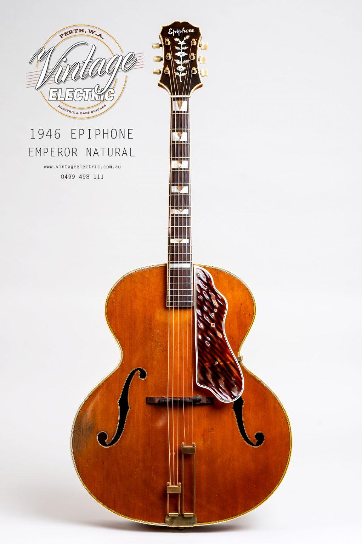 1946 Epiphone Emperor Archtop