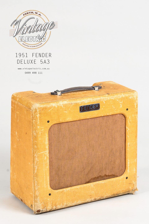 1951 Fender Deluxe 5A3 Tweed