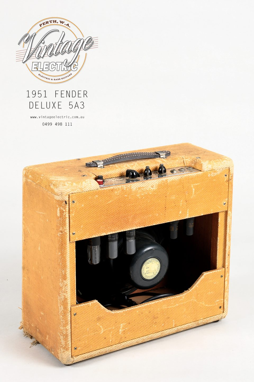 1951 Fender Deluxe Back