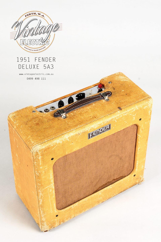 1951 Fender Deluxe Tweed Top