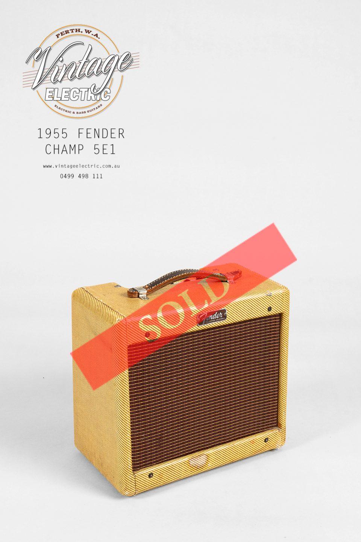 1955 Fender Champ 5E1 SOLD