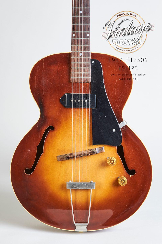 1957 Gibson ES-125 USA Body
