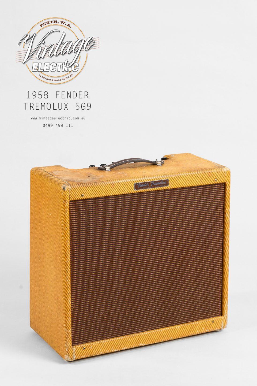 1958 Fender Tremolux 5G9