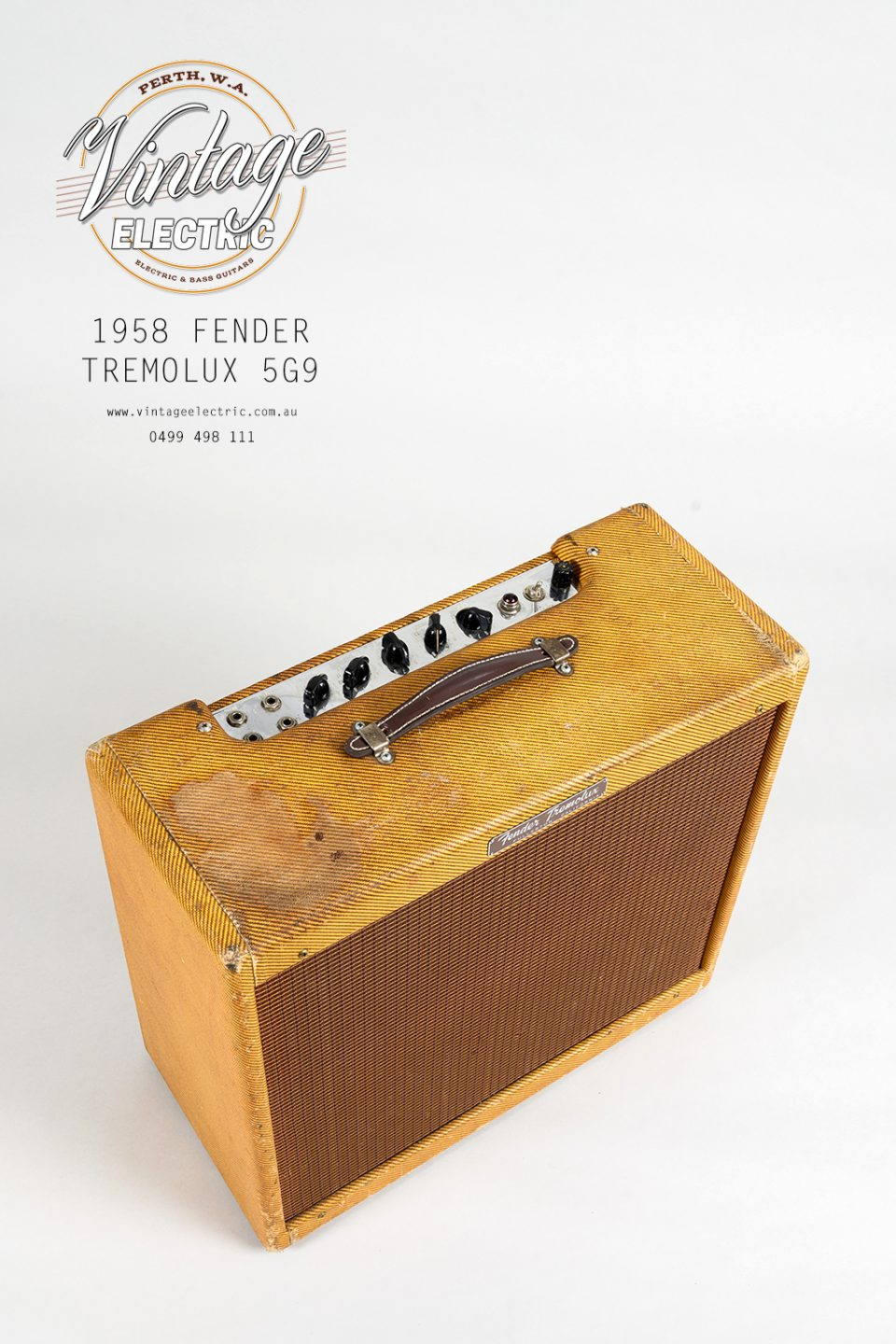 1958 Fender Tremolux 5G9 Top