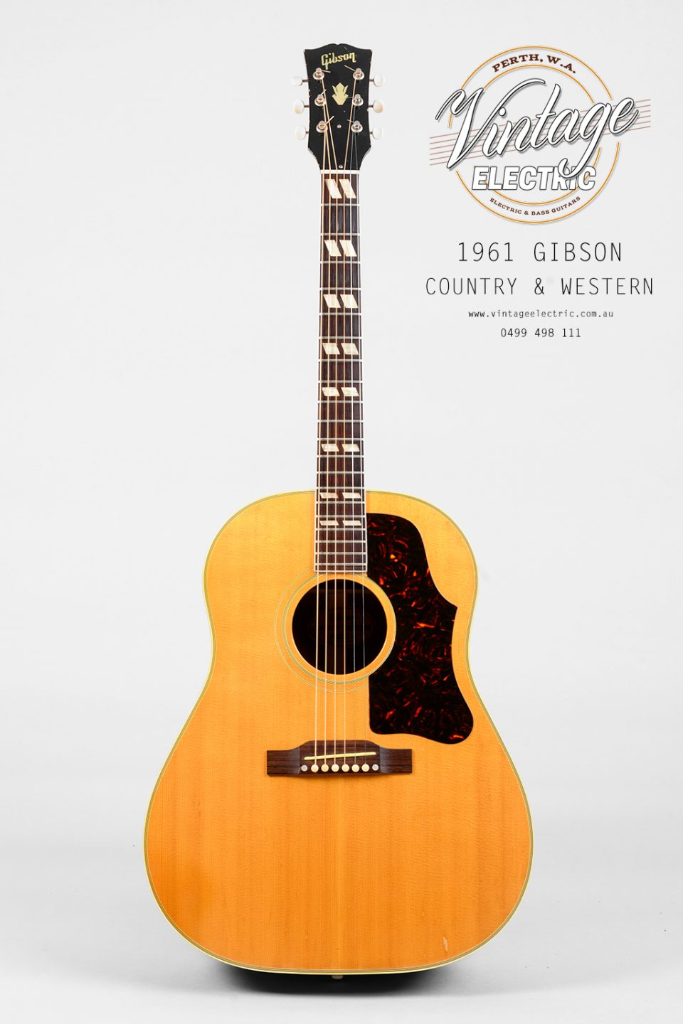 1961 Gibson Country Western Acoustic Guitar