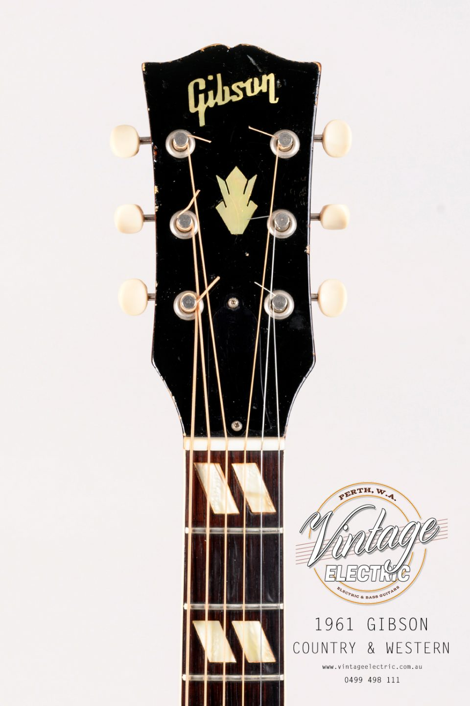 1961 Gibson Country Western Headstock