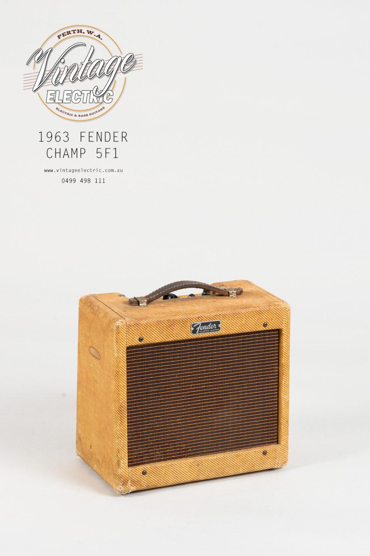 1963 Fender Champ 5F1