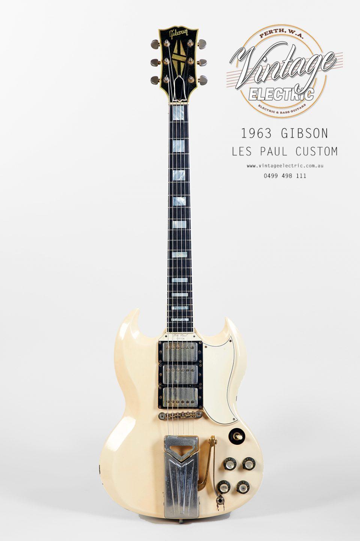 1963 Gibson Les Paul Custom 2020