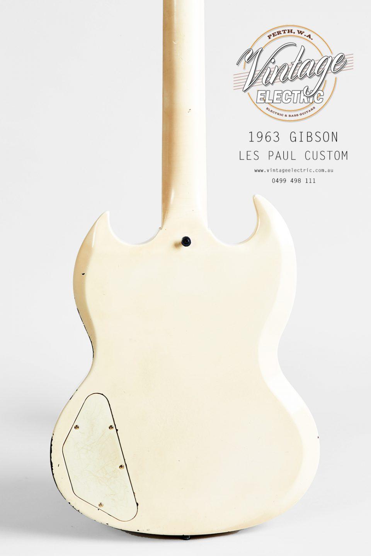 1963 Gibson Les Paul Custom 2020 Back of Body