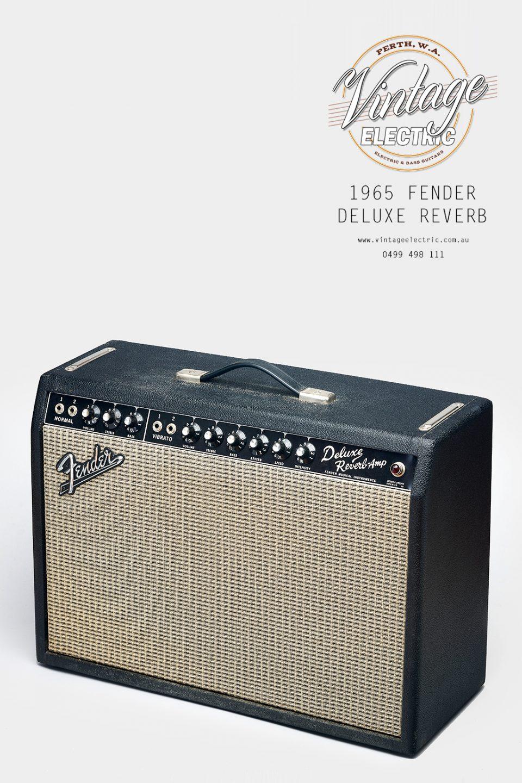 1965 Fender Deluxe Reverb USA