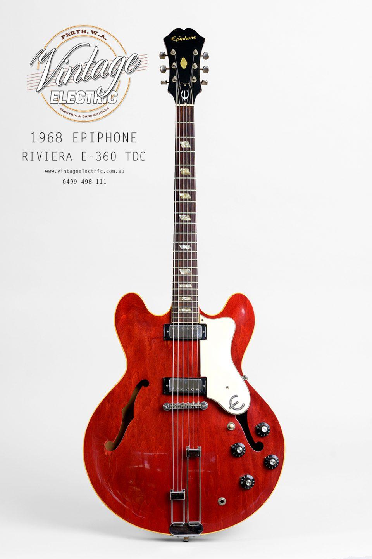 1968 Epiphone Riviera 360