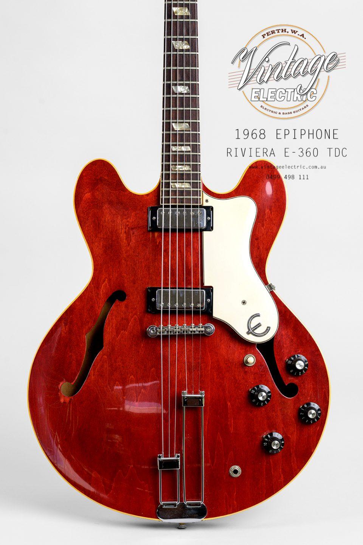 1968 Epiphone Riviera Body