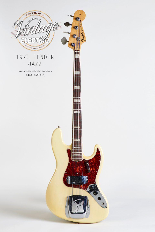 1971 Fender Jazz USA Rosewood Bass