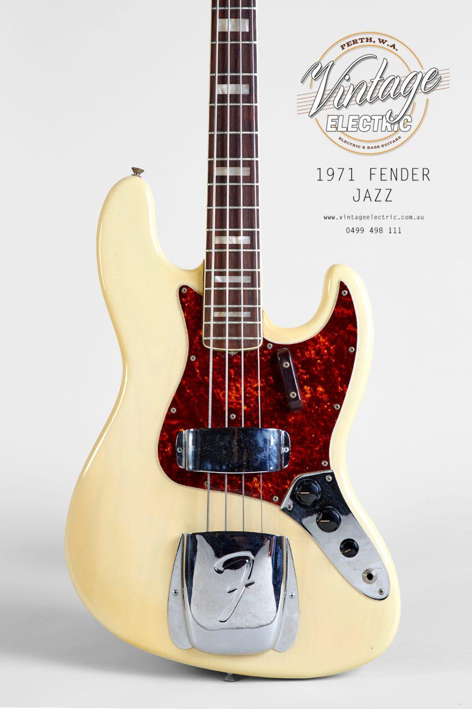 1971 Fender Jazz USA Rosewood Body