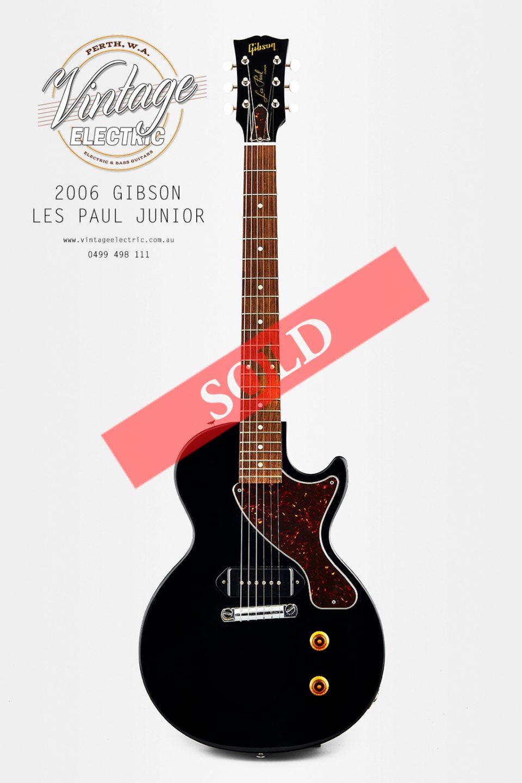 2006 Gibson Les Paul Jr SOLD