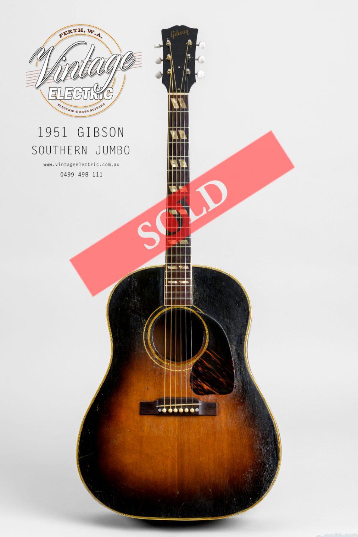 1951 Gibson Southern Jumbo SOLD
