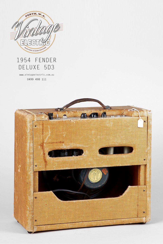 1954 Fender Deluxe 5D3 Back