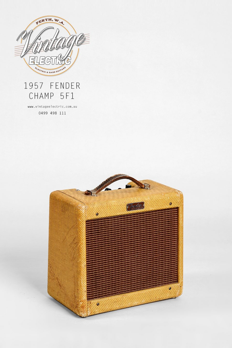 1957 Fender Champ 5F1 Tweed