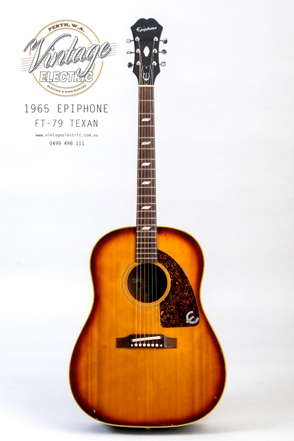 1965 Epiphone Texan FT79 Acoustic USA