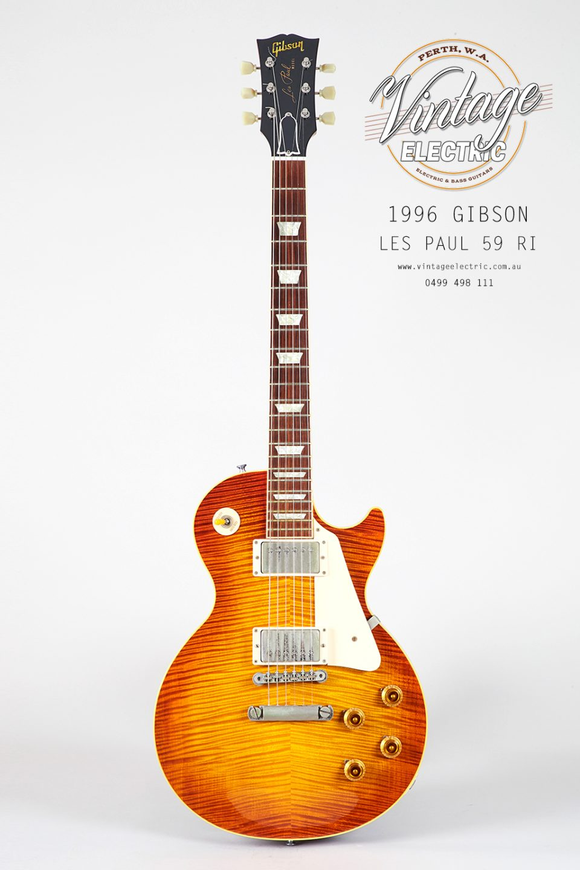 1996 Gibson Les Paul 1959 Reissue Custom Shop