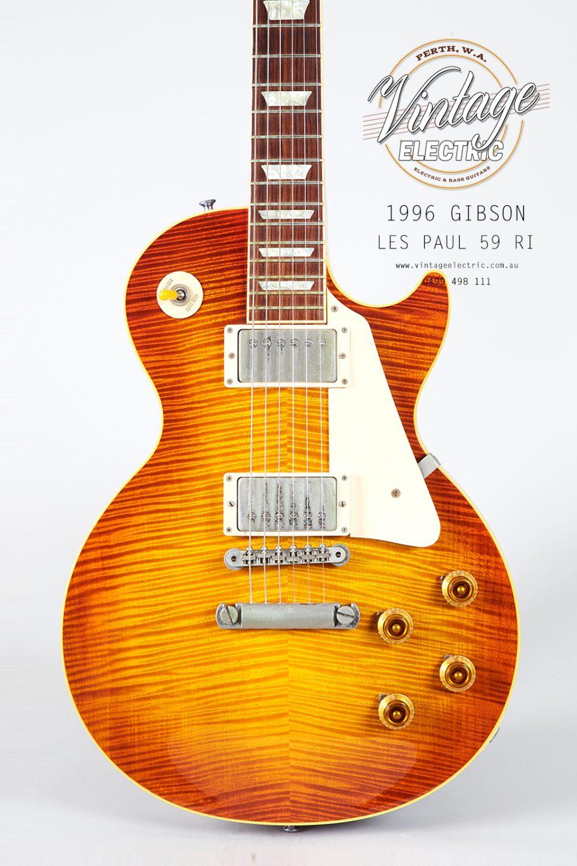 1996 Gibson Les Paul 59RI Body