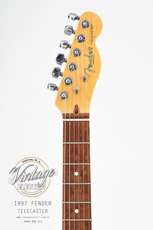 1997 Fender Telecaster Headstock