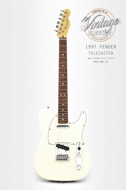 1997 Fender Telecaster Olympic White USA