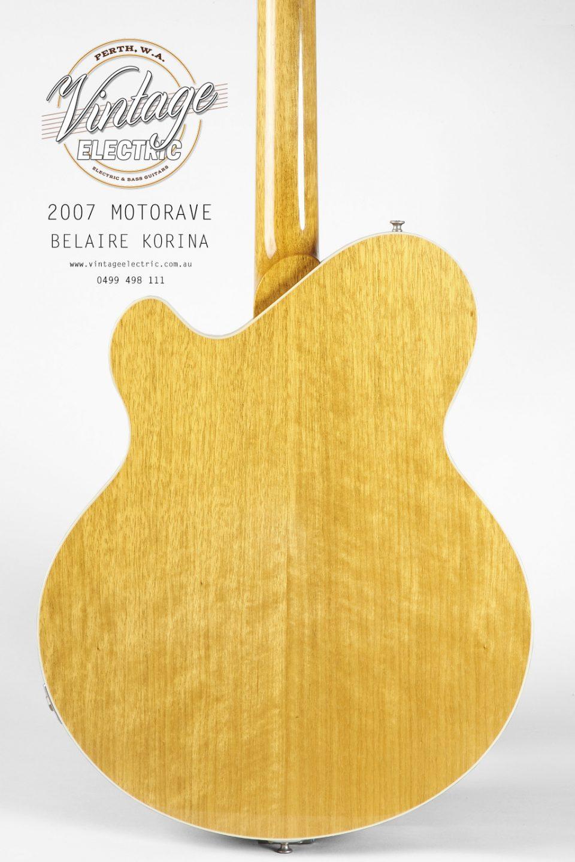 2007 MotorAve Korina Back of Body