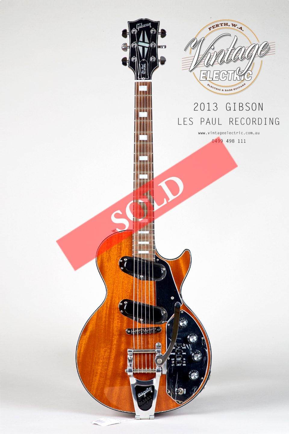 2013 Gibson Les Paul Recording SOLD