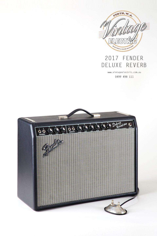 2017 Fender Deluxe Reverb