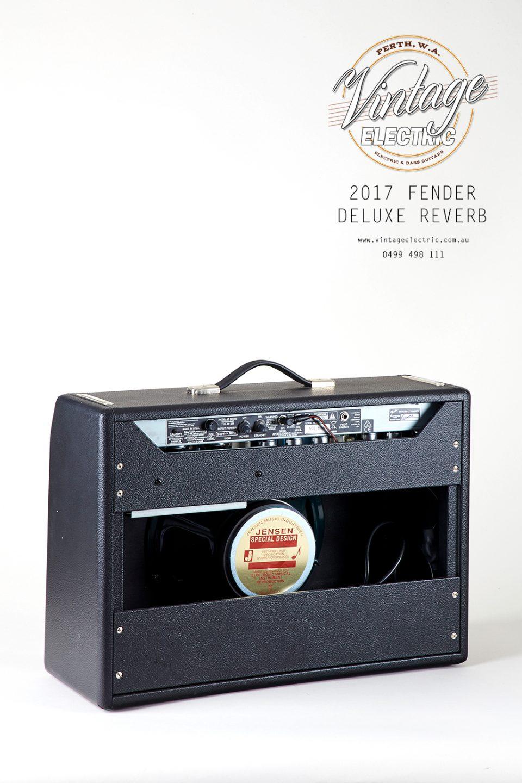 2017 Fender Deluxe Reverb Rear