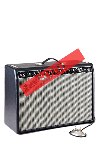 2017 Fender Deluxe Reverb Small Sold
