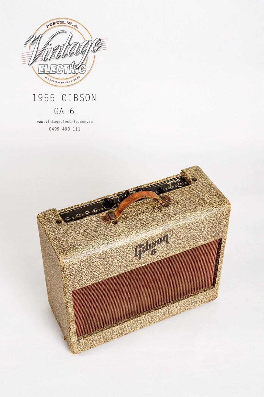 1955 Gibson GA-6 Amp Top