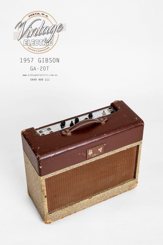 1957 Gibson GA-20 Amp Top