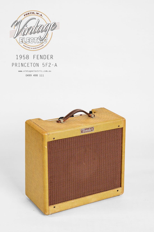 1958 Fender Princeton 5F2-A Tweed