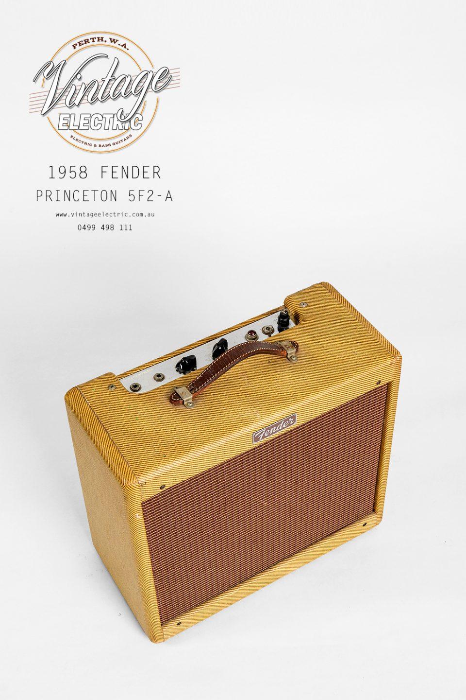 1958 Fender Princeton 5F2-A Tweed Top