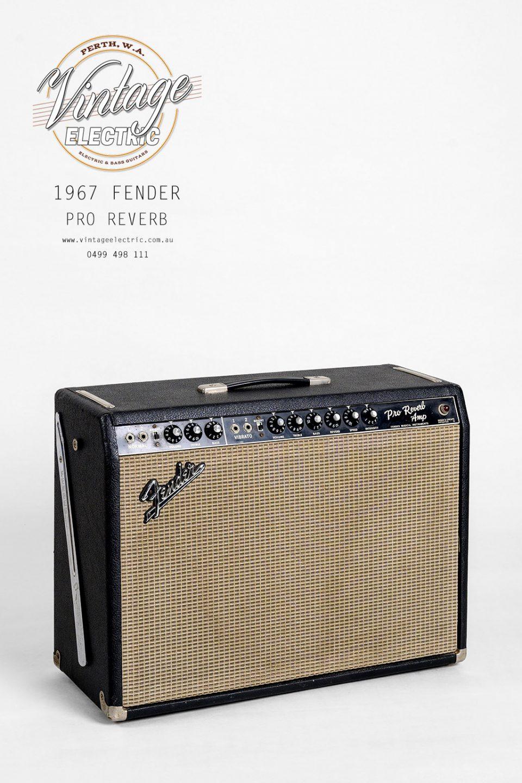 1967 Fender Pro Blackface Reverb