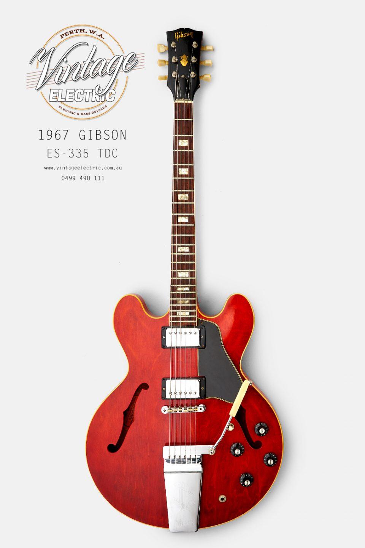1967 Gibson ES-335 TDC