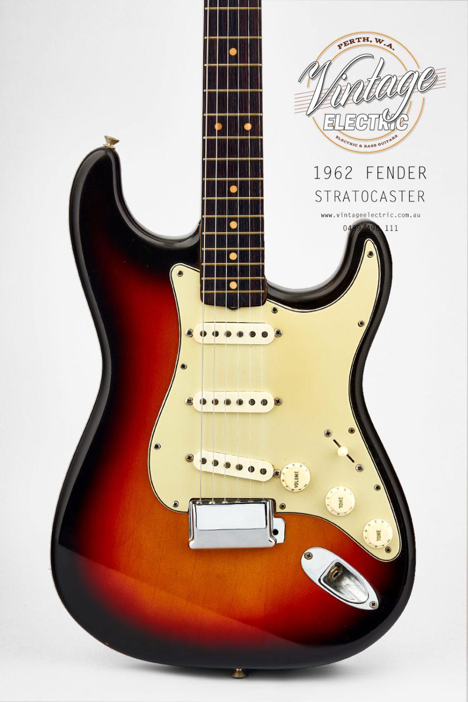1962 Fender Stratocaster Body