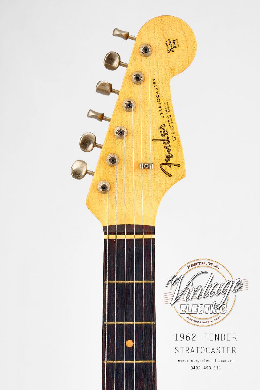 1962 Fender Stratocaster Headstock