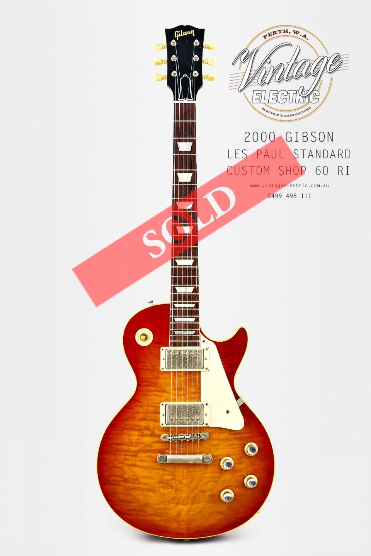 2000 Gibson Les Paul Custom Shop 1960 Historic Reissue