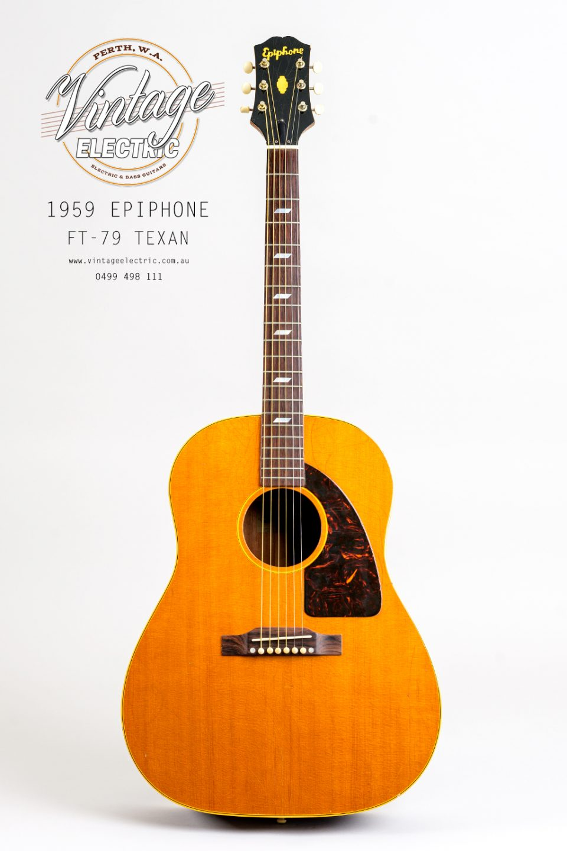 1959 Epiphone Texan FT79 USA Acoustic