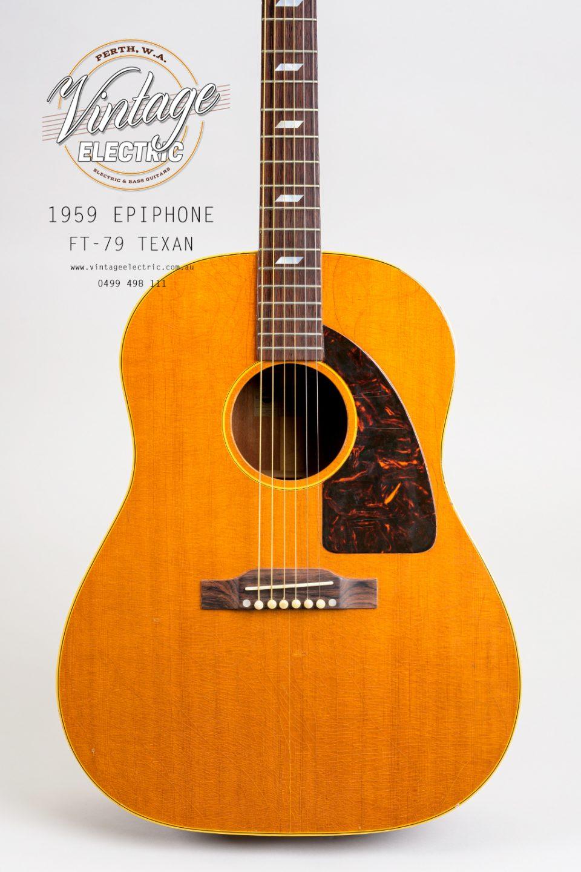 1959 Epiphone Texan FT79 USA Body