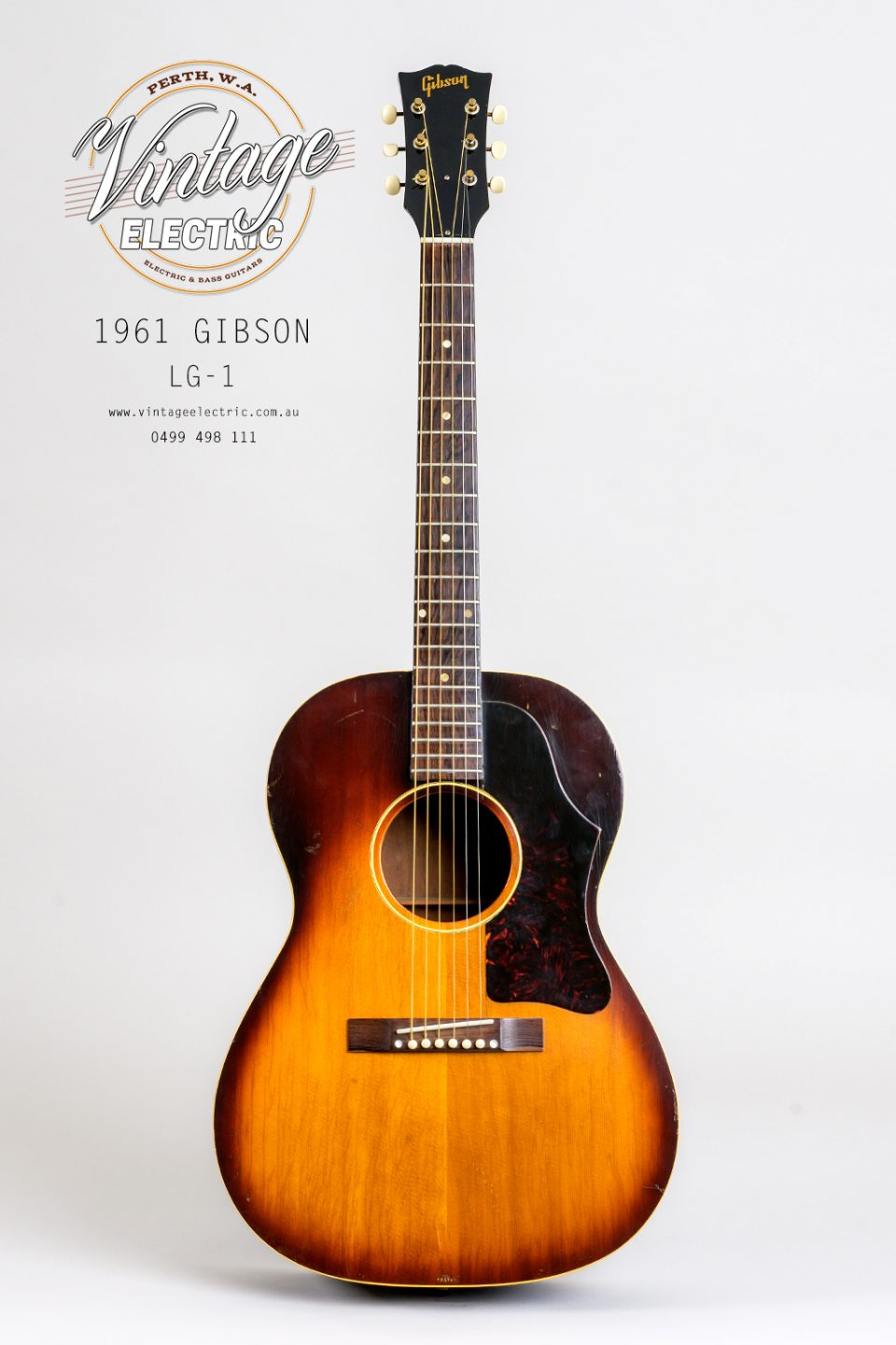 1961 Gibson LG1 Acoustic Guitar
