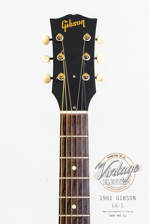 1961 Gibson LG1 Headstock