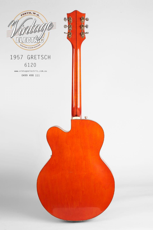 1957 Gretsch 6120 Back of Guitar