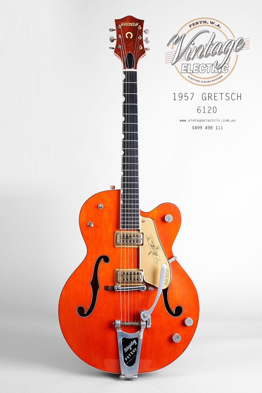 1957 Gretsch 6120 Chet Atkins