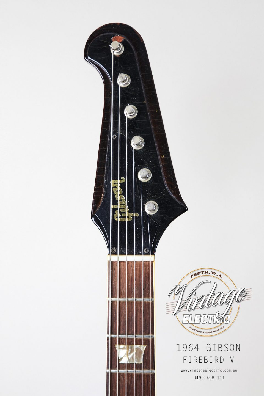 1964 Gibson Firebird Headstock